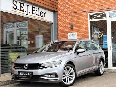 brugt VW Passat Variant 2,0 TDI SCR Elegance Plus DSG 150HK Stc 7g Aut. A+