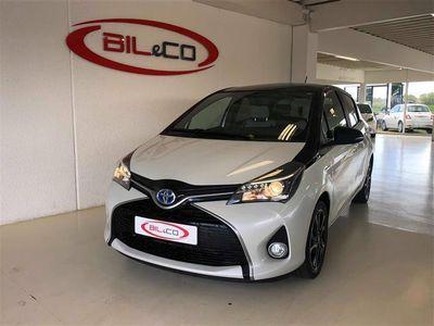 used Toyota Yaris 1,5 B/EL Pure E-CVT 100HK 5d Trinl. Gear