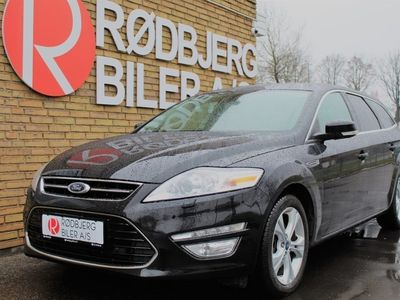 brugt Ford Mondeo 2,0 TDCi 163 Business stc. aut.