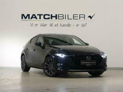 brugt Mazda 3 2,0 Skyactiv-X Mild hybrid Cosmo AWD 180HK 5d 6g Aut.