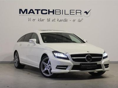 begagnad Mercedes CLS350 Shooting Brake 3,5 AMG Line 7G-Tronic 306HK Stc 7g Aut.