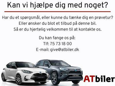 brugt Toyota Auris 1,2 T Selected Bi-tone 116HK 5d 6g A