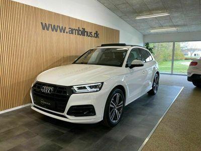 brugt Audi Q5 TDi 190 S-line quattro S-tr.