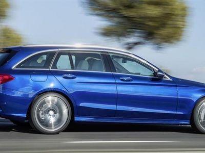 brugt Mercedes C200 d T 2,1 D 7G-Tronic Plus 136HK Stc 7g Aut. - Personbil - mørkblåmetal