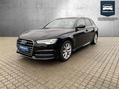 brugt Audi A6 Avant 2,0 TDI 190HK Stc 6g - Personbil - Sort