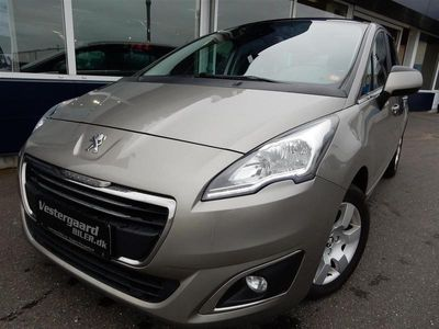 brugt Peugeot 5008 1,6 HDI Style 114HK 6g