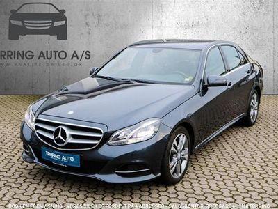 second-hand Mercedes E220 1 Bluetec 9G-Tronic 170HK 9g Aut. - Personbil - koksmetal