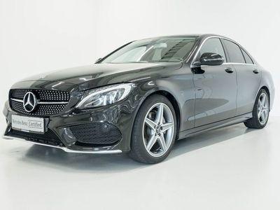 brugt Mercedes C220 d 2,2 AMG Line aut.