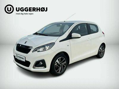 brugt Peugeot 108 1,0 e-VTi 72 Allure TOP!