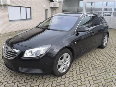 brugt Opel Insignia Sports Tourer 2,0 CDTI DPF Edition 160HK Stc 6g - Personbil - sortmetal