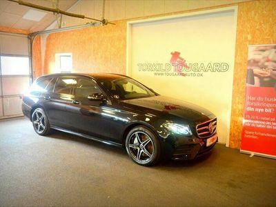 brugt Mercedes E300 AMG Line stc. aut.