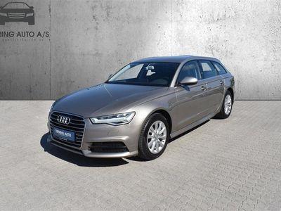 brugt Audi A6 Avant 3,0 TDI S Tronic 218HK Stc 7g Aut. - Personbil - Beigemetal