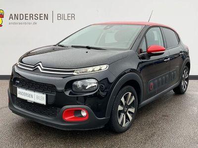 brugt Citroën C3 1,2 PureTech Shine EAT6 start/stop 110HK 5d 6g Aut.
