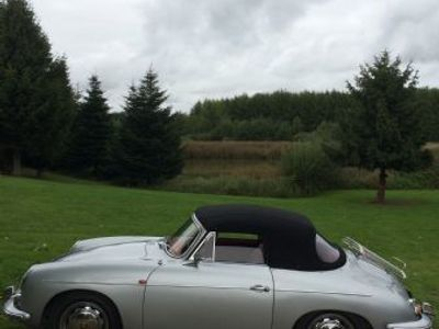 brugt Porsche 356 SC cabriolet