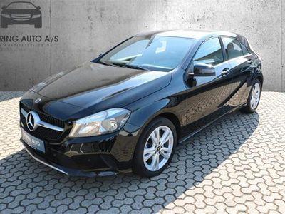 usado Mercedes A180 1,5 CDI Edition 7G-DCT 109HK 5d 7g Aut. - Personbil - sort