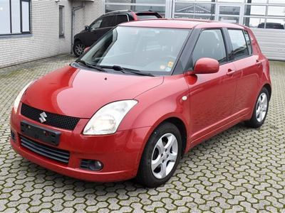 brugt Suzuki Swift 1,3 GLX 92HK 5d - Personbil - rødmetal
