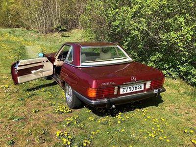 brugt Mercedes SL450 4,5 SL