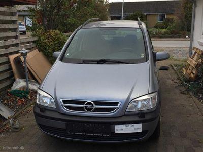brugt Opel Zafira 1,8 16V Elegance 125HK