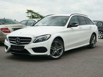 gebraucht Mercedes C220 2,2 BlueTEC AMG Line stc. aut.