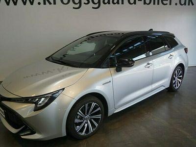 brugt Toyota Corolla Touring Sports 1,8 Hybrid H3 Limited E-CVT 122HK Stc Trinl. Gear
