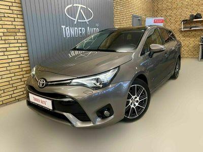 brugt Toyota Avensis 1,8 VVT-i T2 Premium stc. MDS