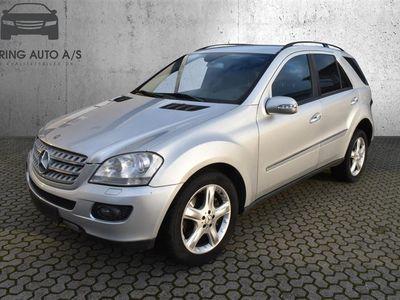 brugt Mercedes ML320 3,0 CDI 4x4 224HK Van 7g Aut. - Varebil - Sølvmetal