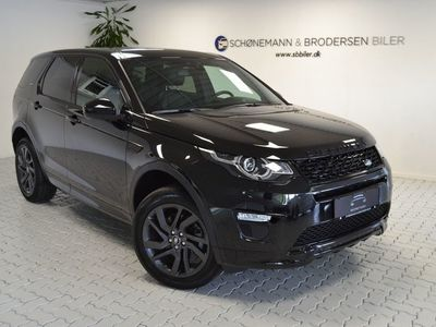 brugt Land Rover Discovery Sport 2,0 TD4 180 HSE aut.