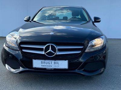 brugt Mercedes C200 2,0 7G-Tronic Plus 184HK 7g Aut.