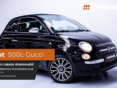 brugt Fiat 500C Gucci