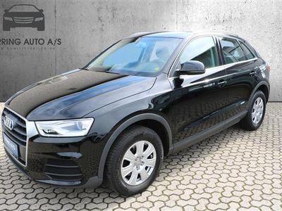 brugt Audi Q3 1,4 TFSI 150HK 5d 6g - Personbil - sort