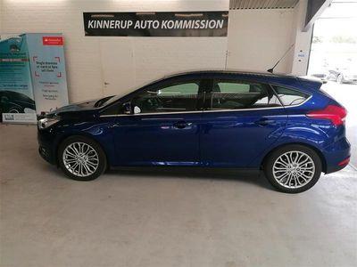 brugt Ford Focus 1,5 EcoBoost Titanium 150HK 5d 6g