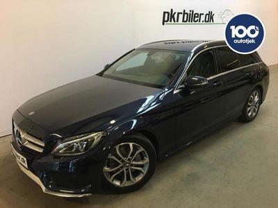 brugt Mercedes C220 2,1 D 7G-Tronic Plus 170HK Stc Aut.