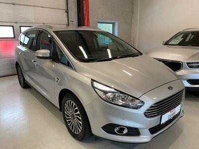brugt Ford S-MAX 1,5 EcoBoost Titanium 7prs