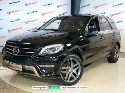 brugt Mercedes ML350 3,0 BlueTEC AMG Line aut. 4-M