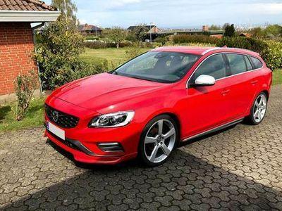 brugt Volvo V60 2,0 D4 R-design 200HK Stc 8g Aut.