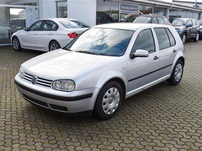 brugt VW Golf 2,0 Trendline 115HK 5d - Personbil - sølvmetal
