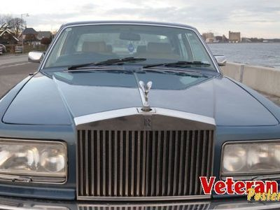 brugt Rolls Royce Silver Spirit Mulsanne