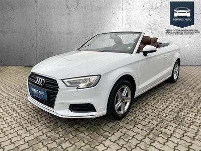brugt Audi A3 Cabriolet 1,4 TFSI S Tronic 116HK 7g Aut. - Personbil - Hvid