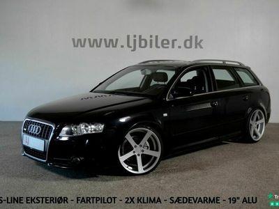 brugt Audi A4 2,0 TDi S-line Avant
