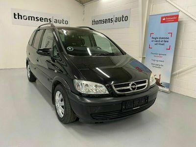 brugt Opel Zafira 1,8 16V Comfort 7prs