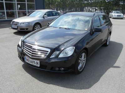 brugt Mercedes E200 2,1 CDI BlueEfficiency 136HK Stc Aut.