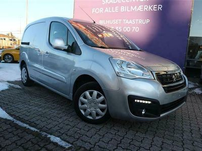 brugt Peugeot Partner L1 Flexpack 1,6 BlueHDi Premium Pro ESG 100HK Van Aut.