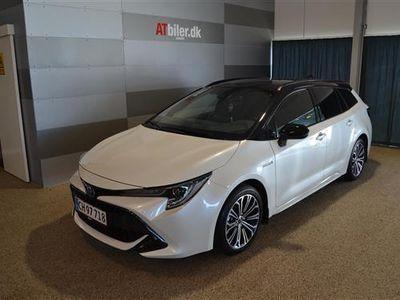 brugt Toyota Corolla Touring Sports 1,8 B/EL H3 Designpakke E-CVT 122HK Stc 6g Aut.