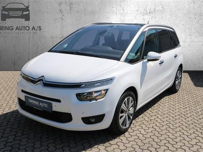 brugt Citroën Grand C4 Picasso 2,0 Blue HDi Intensive start/stop 150HK 6g - Personbil - Hvid