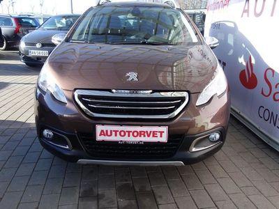 brugt Peugeot 2008 1,2 VTi Allure Sky 82HK