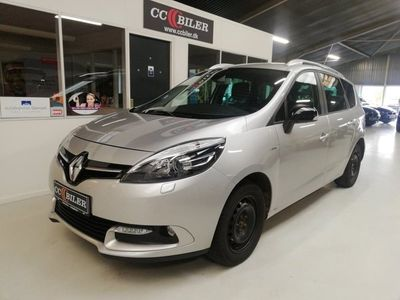 brugt Renault Grand Scénic III IV 1,5 dCi 110 Limited EDC 7prs