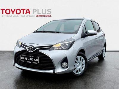 brugt Toyota Yaris Skyview 1,3 VVT-I T2 Komfortpakke 100HK 5d 6g