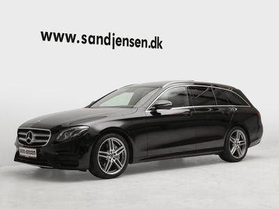 gebraucht Mercedes E220 2,0 AMG Line stc. aut. Van