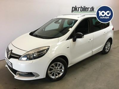 brugt Renault Grand Scénic 1,5 dCi ESM 7p LIMITED 110HK MPV 5d