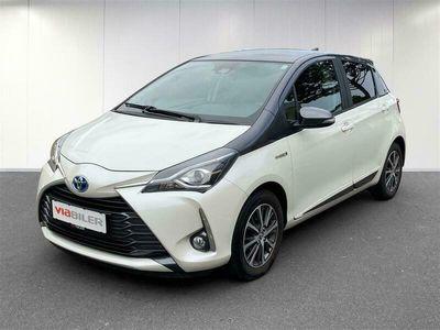 brugt Toyota Yaris 1,5 Hybrid H3 Y20 E-CVT 100HK 5d Trinl. Gear